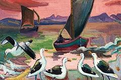 Laubser-BirdsandBoats