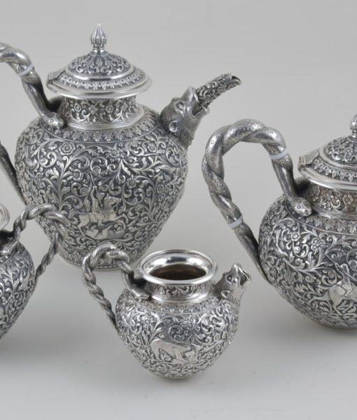 A Indian tea set 1