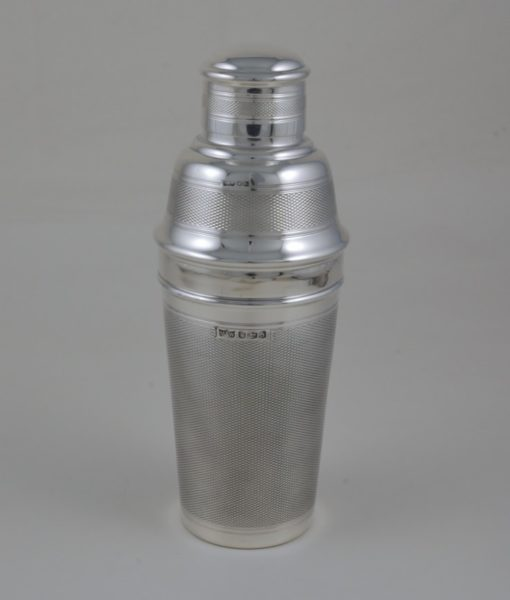 Mappin & Webb Silver cocktail Shaker 4