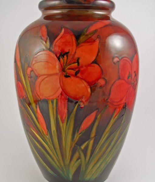 Moorcroft Flambe vase