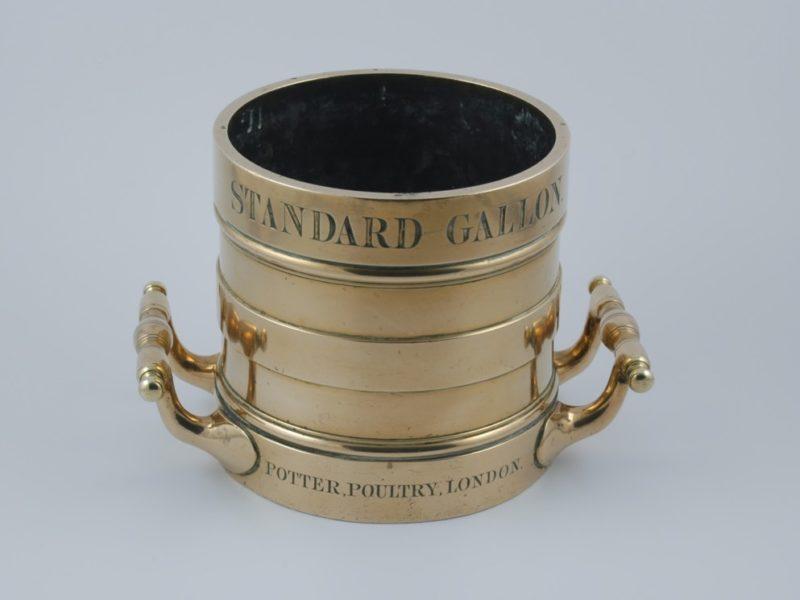 Potter brass Standard Gallon Measure 1