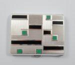 Art Deco 1930 cig case 3