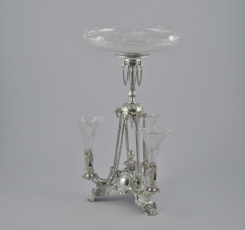 Walker & Hall silver epergne 2