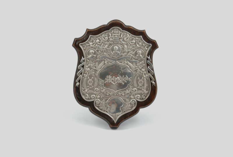Indian polo shield 1