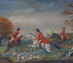 19th century Hunting pic 1c