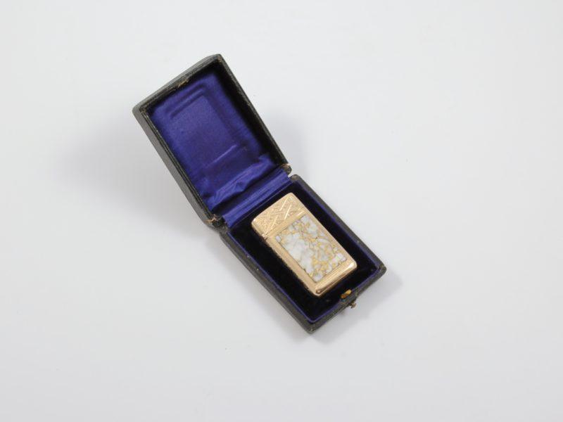 American gold matchsafe 1