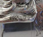 Continental silver stirrup cup 10