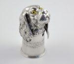 Continental silver stirrup cup 2