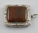 Birmingham 1824 Agate top vinaigrette 2