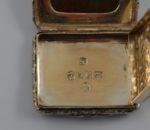 Birmingham 1824 Agate top vinaigrette 5
