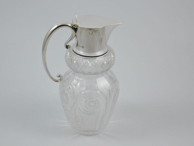 Hukin & Heath Claret jug 1900 1