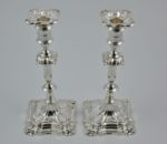 Pair of silver candelsticks 1913 3