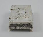 Silver cigar box 1902 4