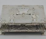 Silver cigar box 1902 5