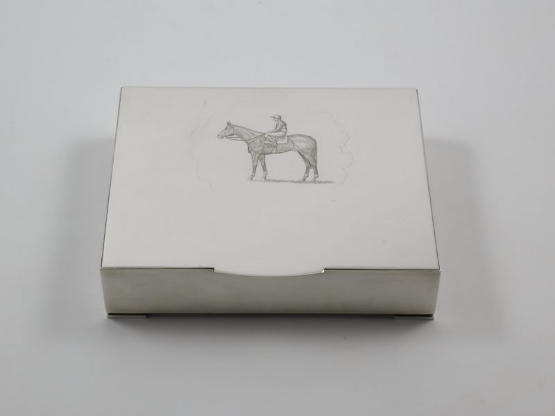 Silver cigar box 1979 1