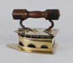 19th century Indian brass coal iron 2