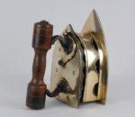 19th century Indian brass coal iron 4