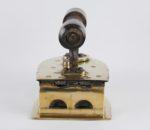 19th century Indian brass coal iron 6